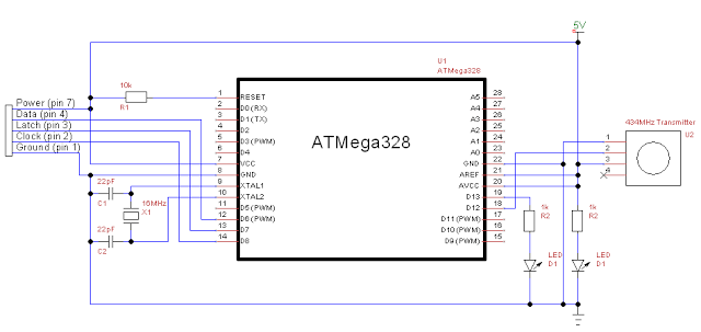 Wireless NES Controller with Arduino | The Poor Student Hobbyist on