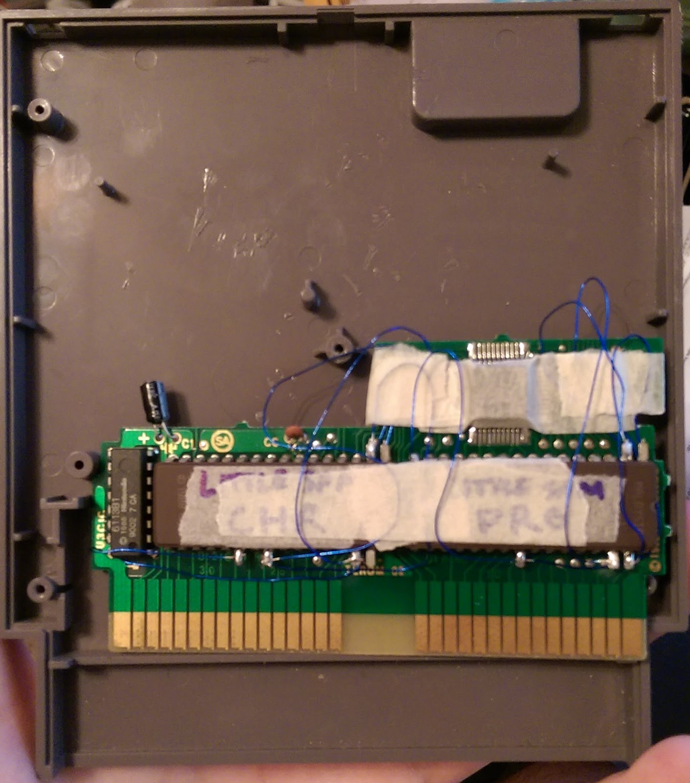 How To Make An Nes Reproduction Cartridge The Poor Student Hobbyist Eprom Programmer Circuit Diagram